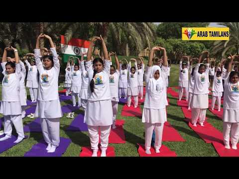 INTERNATIONAL YOGA DAY CELEBRATIONS IN SAUDI 2018