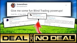 TWITTER DECIDED THESE CRAZY BLIND TRADING POWERUPS!