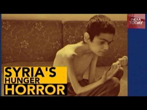 Syria's Hunger Horror: Syria Starving 200,000 Children