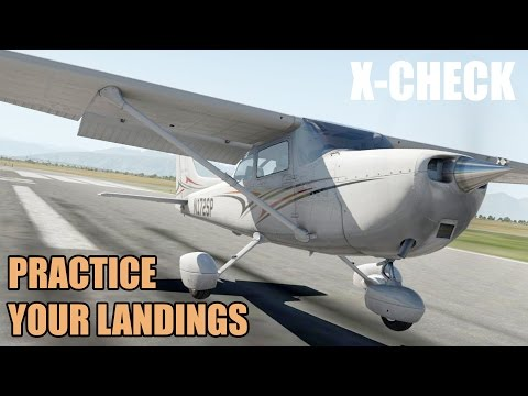 Tips to improve your landings in your Flight Simulator!