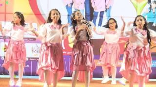 قناة اطفال ومواهب الفضائية احتفال السنوية الرابعة