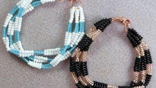 Braided Harringbone Bracelet