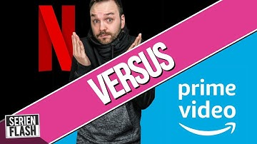 NETFLIX vs AMAZON PRIME VIDEO | VOD Check | SerienFlash