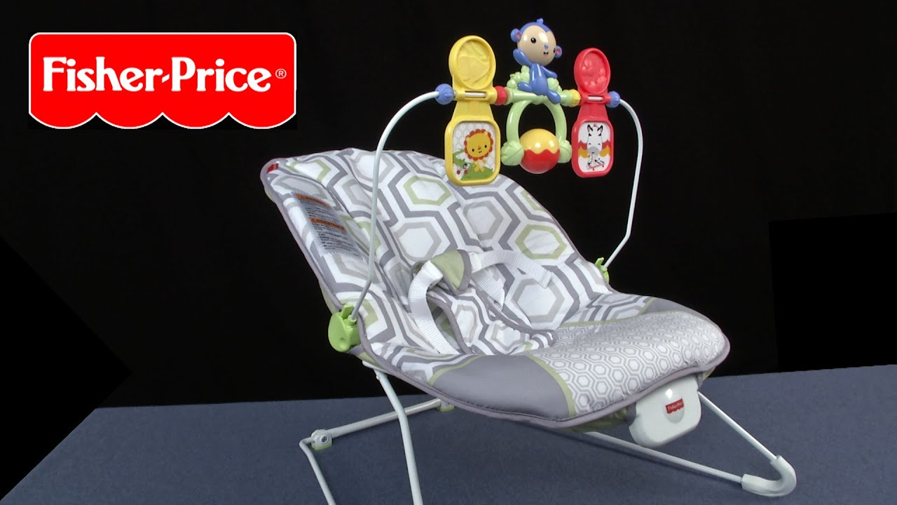 Babys Bouncer From Fisher Price Youtube