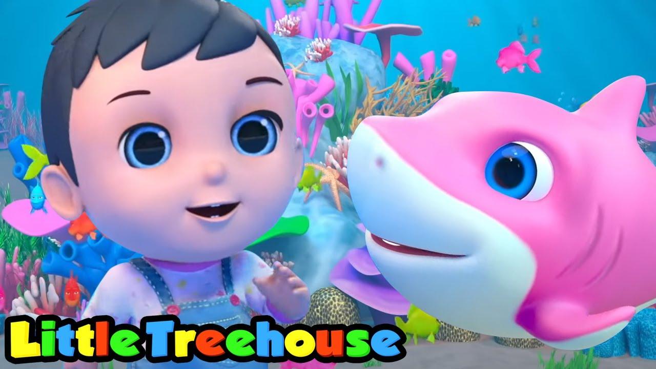 Tubarão Bebê Musica Infantil Portuguesa Educação Little Treehouse Desenhos Animado Youtube