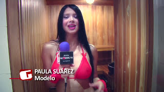 Revista Mi Gente TV - Paula Suarez