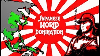 Imperial Japan's INSANE Plans for World Domination. WWII Alternate History