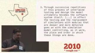 Glenn Vanderburg - Software Engineering Doesn't Work!