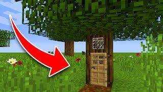 One of Eystreem's most viewed videos: How to Live Inside a Tree in Minecraft! (Pocket Edition, PS4/3, Xbox, Switch)
