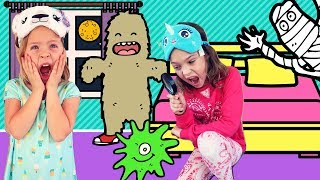 Video Monsters Invade the Toy Hotel !!! download MP3, 3GP, MP4, WEBM, AVI, FLV Juni 2018