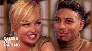 Jorgie Porter IN STITCHES After Date's Strange Toilet Comment! | Celebs Go Dating