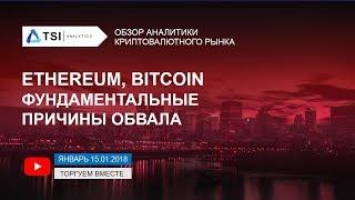 Фундаментальные причины обвала. Bitcoin, Ethereum | Прогноз Криптовалют от TSI Analytics