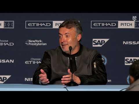 PRESS CONFERENCE | NYCFC vs. DC United | 03.10.19