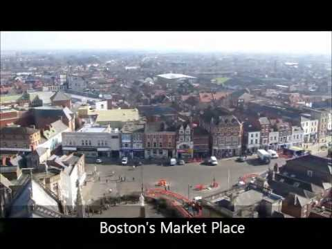 Boston, Lincolnshire from the magnificent Boston Stump