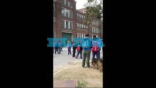 Nutrida protesta en la dirección del Astillero Río Santiago