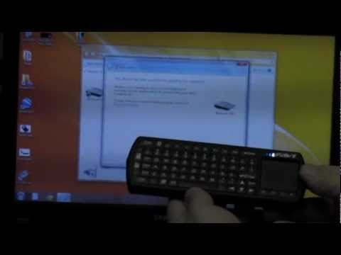 FAVI Bluetooth Tablet Keyboard DEMO with Laptop