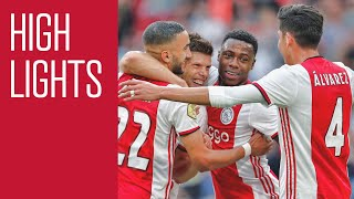 Highlights Ajax - sc Heerenveen