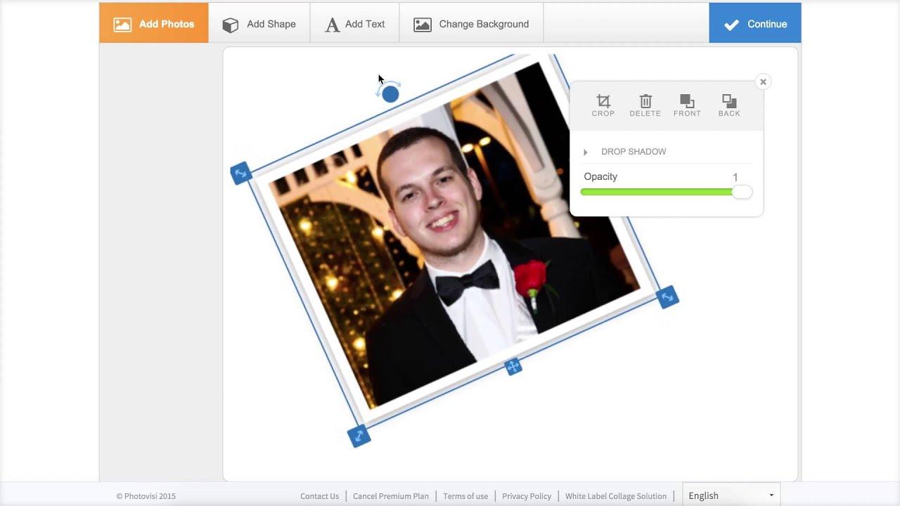 Photovisi collage maker tutorial