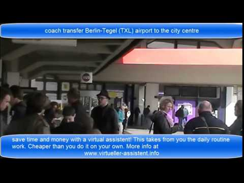 coach transfer Berlin Tegel TXL to the city centre