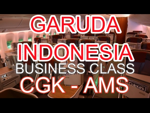 Flight Report : Garuda Indonesia Boeing B777-300ER Business Class GA88 from Jakarta to Amsterdam