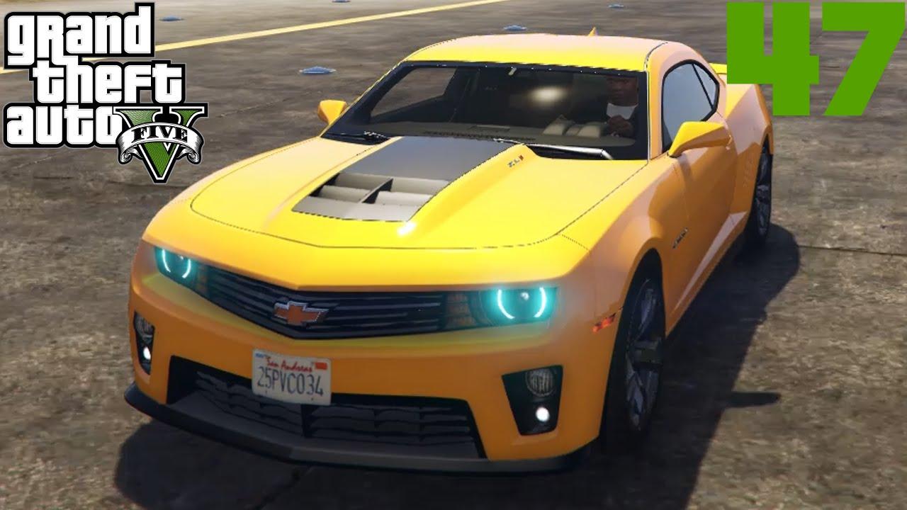 Gta V Mods 047 Chevrolet Camaro Zl1 Deutsch Hd