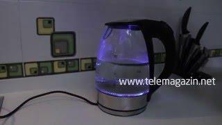 видео Стеклянные электрочайники