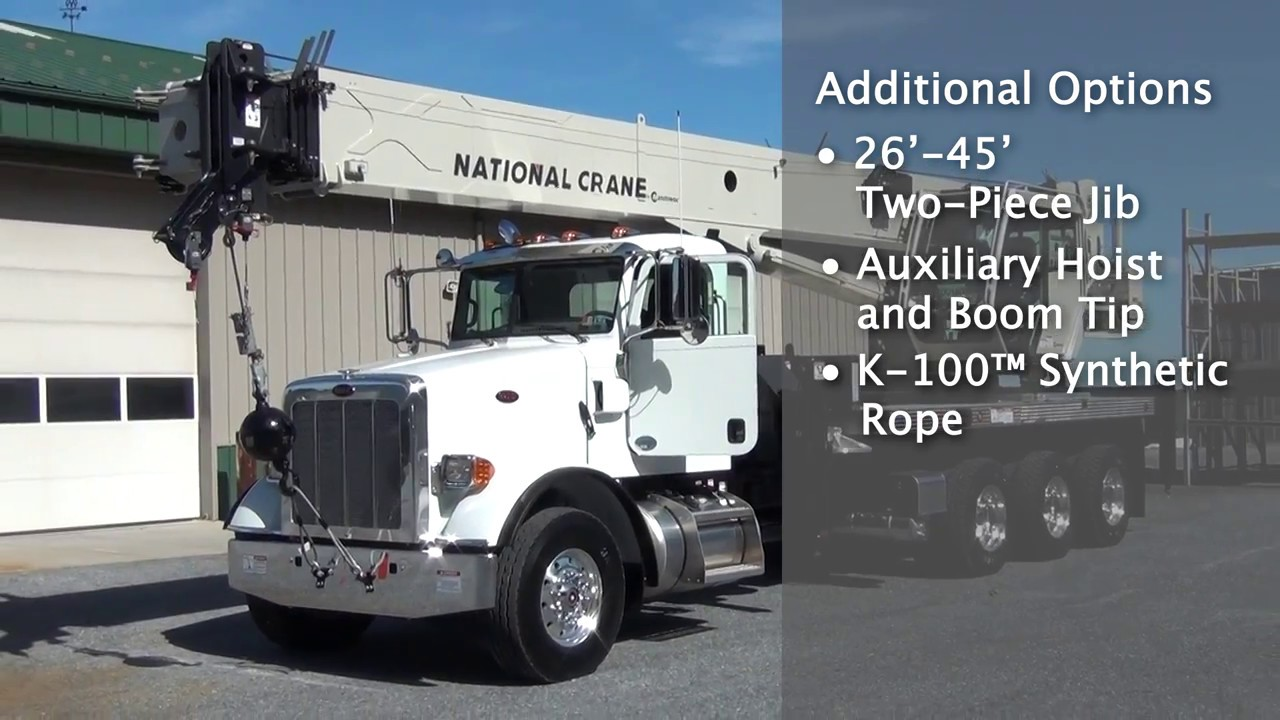 national crane ntc55 features and benefits review youtube rh youtube com