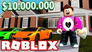 ROBO A MANSION OF 10,000,000 DOLARES Roblox Cerso in Spanish