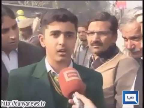 Peshawar Army Shool Student Given Interview to Media Latest