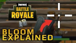 Fortnite Bloom Explained | What is Bloom? | How to reduce Bloom in Fortnite | Dowsey's Fortnite Tips