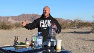 Бродячий рацион в пустыне