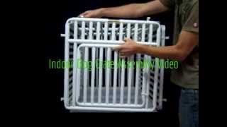 Indoor Dog Crate : Assembly Video By Rover Company