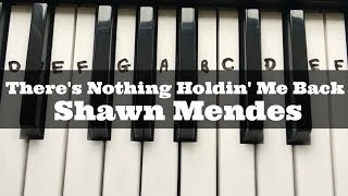 There's Nothing Holdin' Me Back - Shawn Mendes | Easy Keyboard Tutorial With Notes (Right Hand)