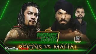 WWE money in the bank Roman Reigns vs Jinder Mahal September 15 2018