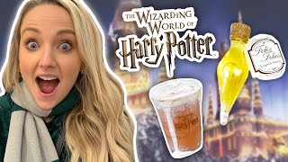 We Try Every Holiday Food at The Wizarding World of Harry Potter!