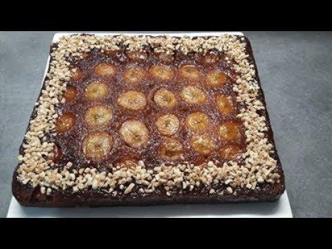 طورطة-البنان-/-الموز-لوجدت-لضيوفي-شاكرة-راسها-recette-de-gâteau-à-la-banane-caramélisé