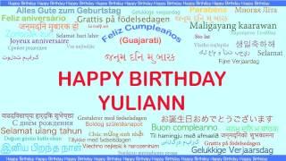 Yuliann   Languages Idiomas - Happy Birthday