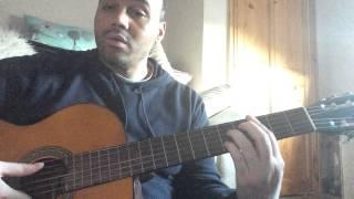 Donnie McClurkin Gospel Guitar Tutorial - Great is Your Mercy