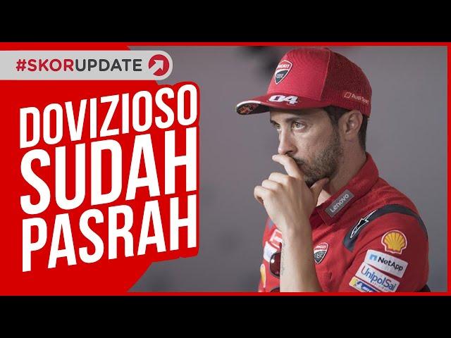 ANDREA DOVIZIOSO SUDAH PASRAH SOAL GELAR JUARA MOTOGP 2020