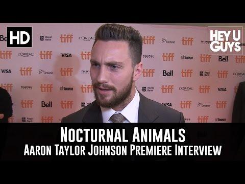 Aaron Taylor Johnson Premiere Interview - Nocturnal Animals (TIFF 2016)