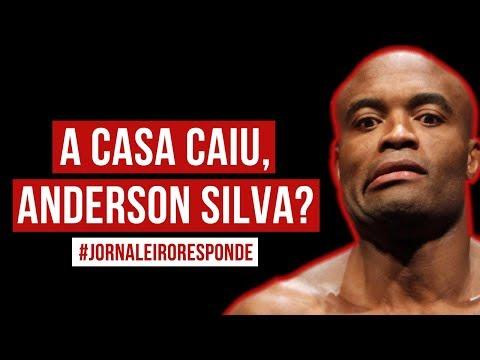 A casa caiu, ANDERSON SILVA? #jornaleiroresponde