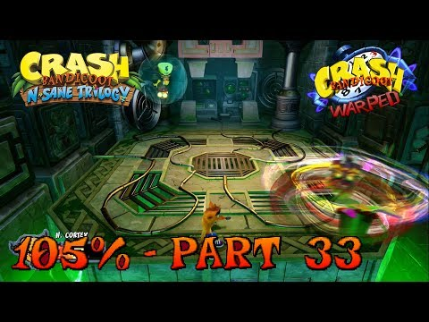 Crash Bandicoot 3 - N. Sane Trilogy - 105% Walkthrough, Part 33: Dr. Neo Cortex & Normal Ending