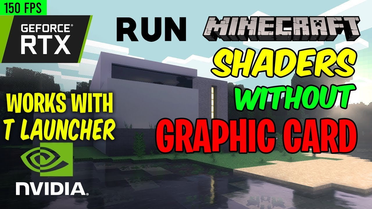 Install Minecraft RTX Shaders in TLauncher  Download Tutorial