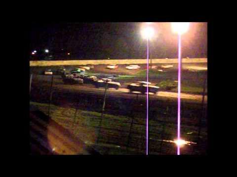 6-15-13 IMCA Stock car race at Arlington Raceway MN