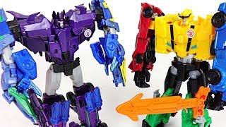 Transformers RID Combiner Force 5 combine Galvatronus vs Ultra Bee : Bumblebee - DuDuPopTOY