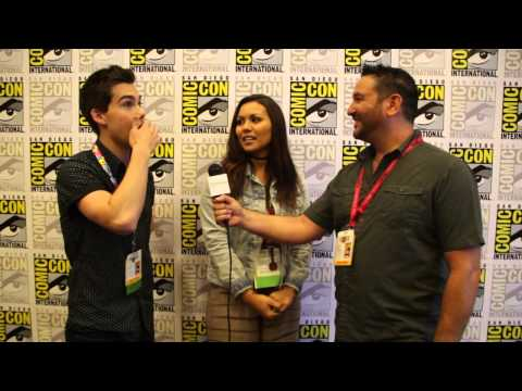 Interview with Finn and Marceline from Adventuretime