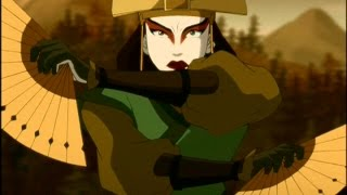 Avatar The Last Airbender - Kyoshi Vs Chin The Conqueror