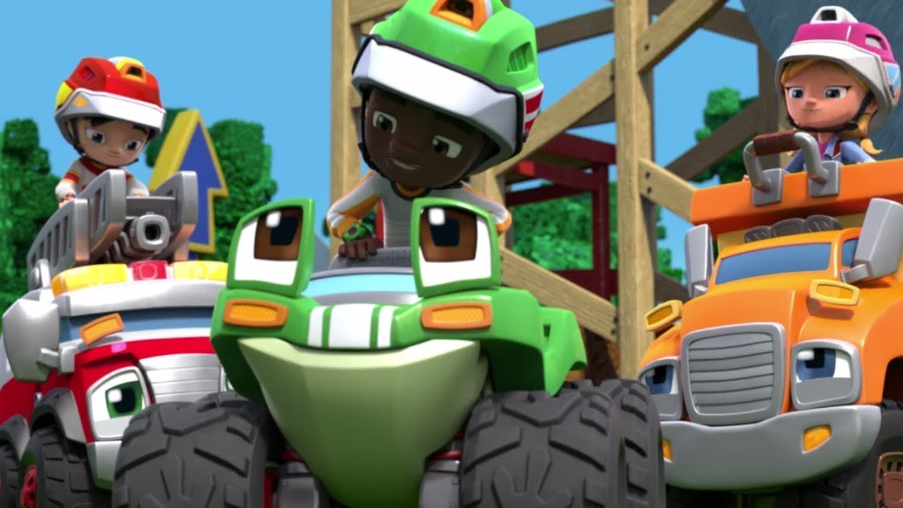 Rev & Roll | The Wild Wheelin' Stunt Park | Episode 5 | Kids Cartoons | Wildbrain Cartoons