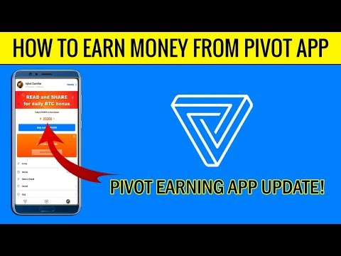 How to Earn Money From Pivot App in [Hindi/Urdu] 2018 - Pivot App Earning Update!