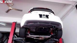 Honda CRZ Turbo With Ultra Racing Strut Bar